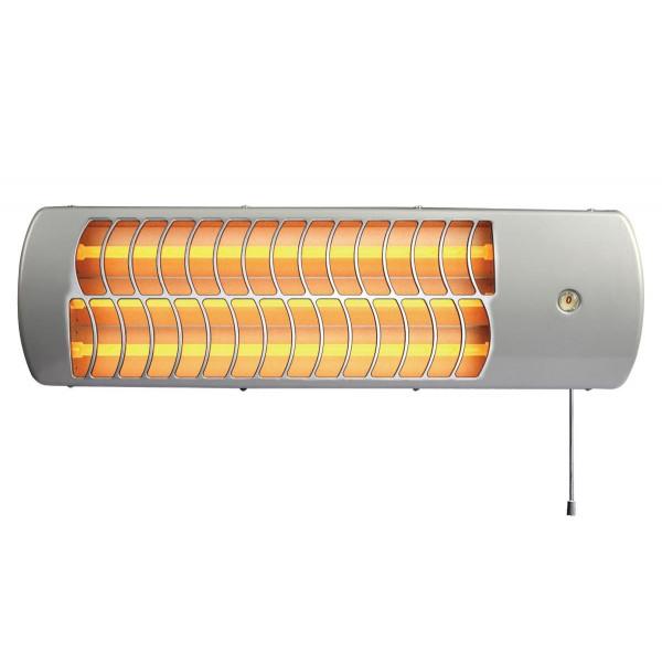 VENTAX 3-trins halogen strålevarmer max. 1500W