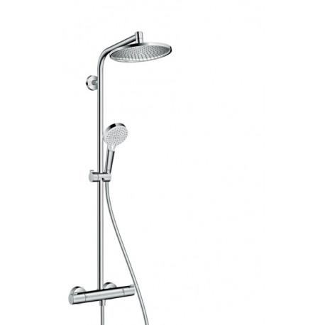 hansgrohe crometta s 240 showerpipe krom. Black Bedroom Furniture Sets. Home Design Ideas